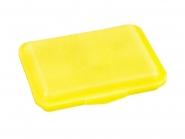 Klickbox Flach Gelb | ohne Druck