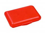 Klickbox Flach Rot | ohne Druck