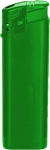 TOM Elektronik-Feuerzeug Grün   ohne Druck