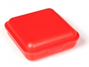 Klickbox Quadro Rot | ohne Druck