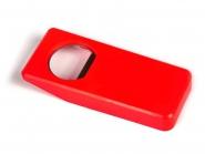 Flaschenöffner und -schließer Rot | ohne Druck