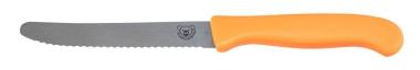 Schneidebär® Frühstücksmesser Orange   ohne Druck