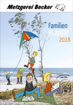 """Kalender 2018 """"Familienplaner"""""""