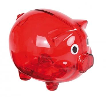 Sparschwein aus Kunststoff