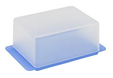 Butterdose Blau-Lavendel | ohne Druck