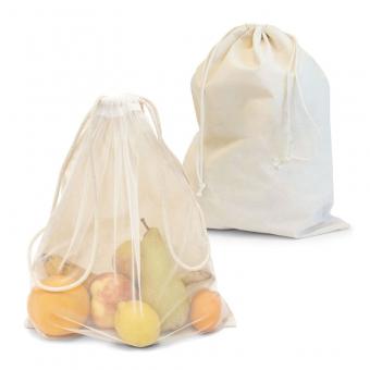 Zuziehbeutel aus Baumwolle/Nylon