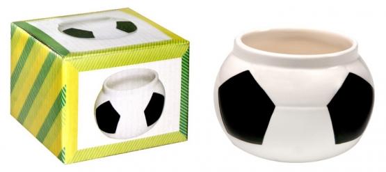 Schmalztopf im Fußballdesign