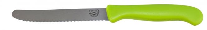 Schneidebär® Frühstücksmesser Apfelgrün | ohne Druck