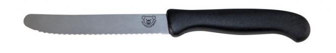 Schneidebär® Frühstücksmesser Schwarz | ohne Druck