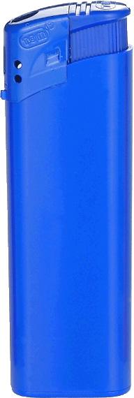 TOM Elektronik-Feuerzeug Blau | ohne Druck