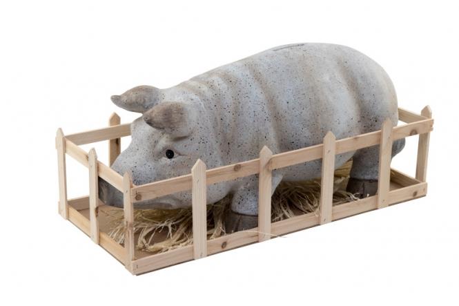 Deko-Schwein