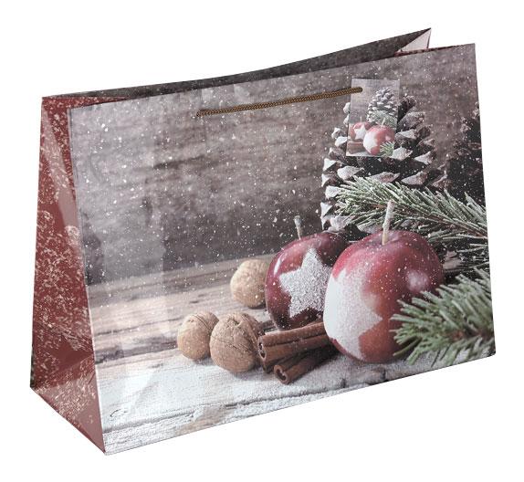 """Weihnachtspapiertüte """"Weihnachtsapfel"""""""