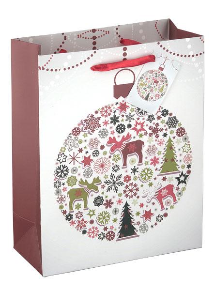 """Weihnachtspapiertüte """"Elch"""""""