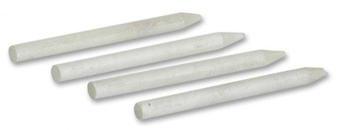4er Set Stifte aus Speckstein zum Beschriften von Schiefer