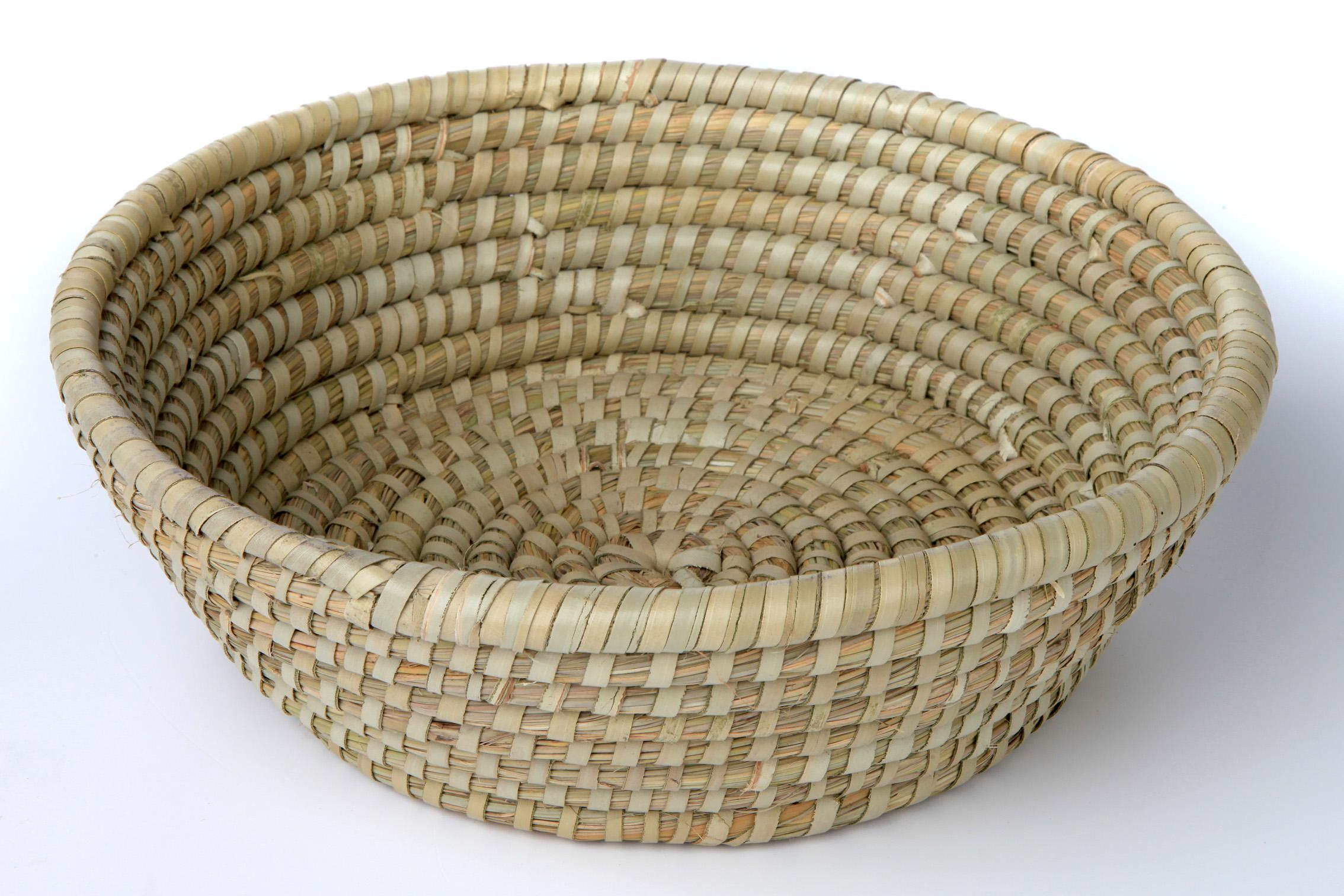 kws k ttler gmbh werbemittel rundes k rbchen aus seegras. Black Bedroom Furniture Sets. Home Design Ideas